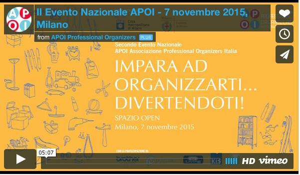 Video 7 Nov 2015 Milano