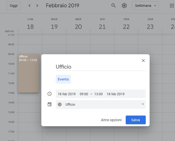 Imposta Calendario.Tutorial Impostare Il Calendario Google Silva Bucci