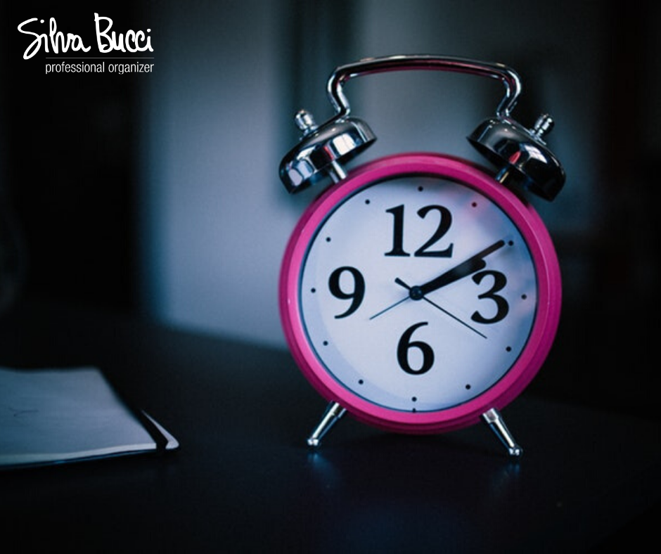 Pillole di organizzazione tempo ufficio stile di vita