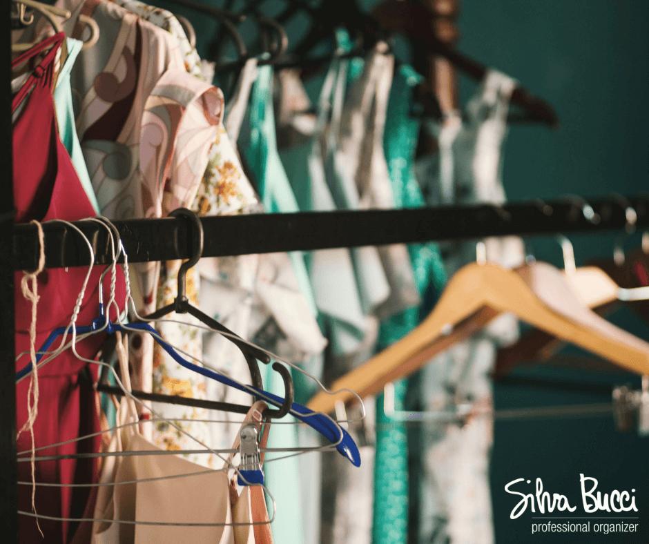 Organizza il tuo armadio con l'aiuto del principio di Pareto