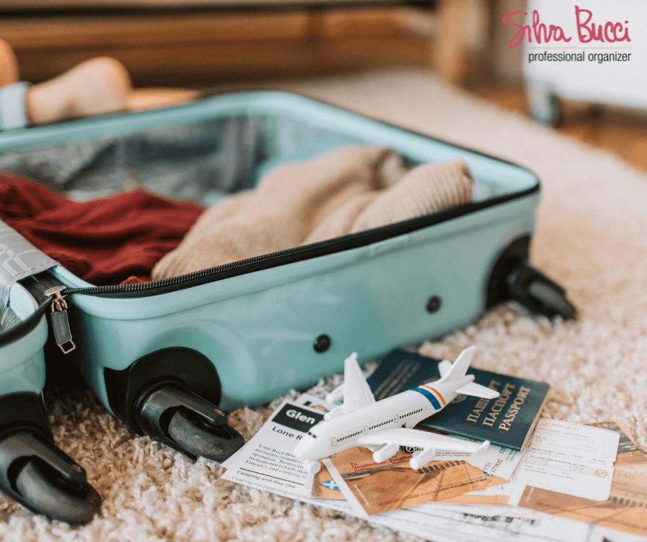 Spunti per fare la valigia a seconda del tipo di vacanza e del mezzo con cui viaggi